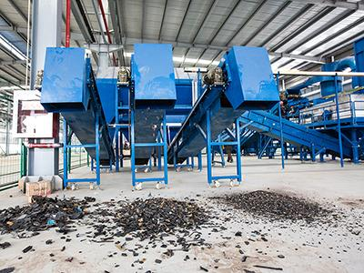 Metal shredding and recycling