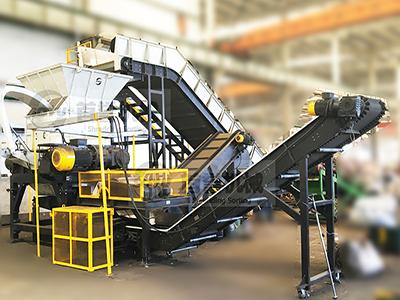 Metal shredding and recycling